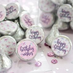 These butterfly themed birthday party favor stickers are the perfect finishing touch to your butterfly themed party decorations. #butterfly #happybirthday #birthdaygirl #butterflyparty #girlparty Butterfly Party Favors, Butterfly Birthday Party, Mermaid Theme Birthday, Purple Birthday, Birthday Party Favors, 11th Birthday, Lila Party, Grad Party Decorations, Baby Shower Favors Girl