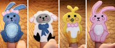 Dream a Little Bigger - Dream a Little Bigger Craft Blog - Easter Finger Puppets {FREEPattern!}