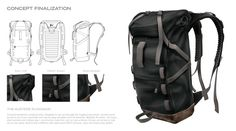 Austere Ruck by Branden Francis, via Behance
