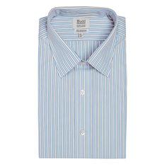 Luxury Exclusive Light Blue Budd Stripe Shirt | Budd Shirts