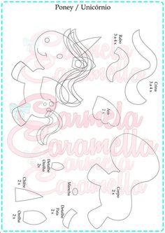 FABRICS AND SCRAPBUCKING. Kazan |  VK Felt Crafts, Diy And Crafts, Crafts For Kids, Felt Dragon, Animal Templates, Bear Felt, Unicorns And Mermaids, Needle Felting Tutorials, Unicorn Pattern