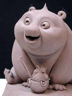 Baby Po maquette  by Bard Sculpture Studio