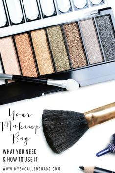 Makeup Bag Essentials and How to Use Them