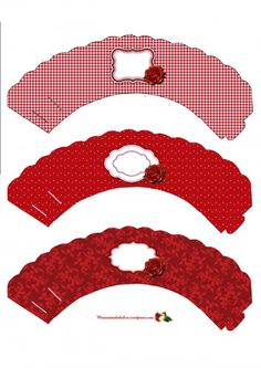 cupcake wrappers para un san valentin muy romantico