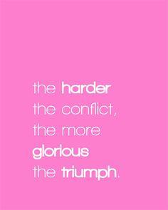 Persevere...Overcome