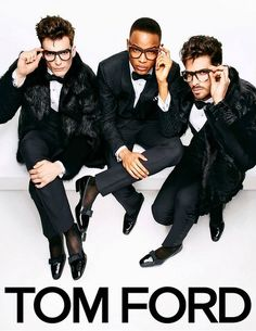 Dapper gents don't get any more dapper unless they're in Tom Ford.