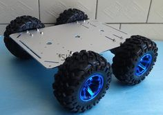 Hercule Supper big Rugged 4WD Smart Robot Car Chassis 130mm tires aluminum high loading trolley Large torque