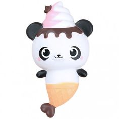 CreamiiCandy YummiiBear Panda Mermaid Squishy (◕ᴥ◕) Kawaii Panda - Making Life Cuter
