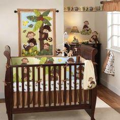 I like the idea of a monkey themed nursery