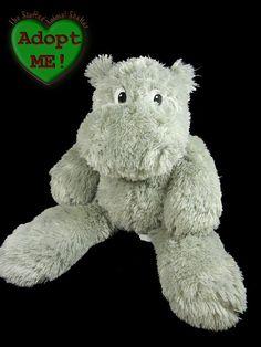 Dennis Foland Sureshot Redemption Stuffed Plush Beanie Hippo Hippopotamus 21in #DennisFoland