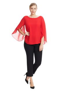 Lulu Blouse In Red b