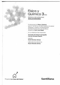 Solucionario - Fisica y Quimica - 3º ESO ( Santillana ) - Documents
