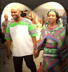 Traditional Sotho Wedding Dresses Venda 2019 • stylish f9 African Wedding Dress, African Print Dresses, African Print Fashion, African Fashion Dresses, African Dress, African Weddings, Venda Traditional Attire, Traditional Outfits, African Attire