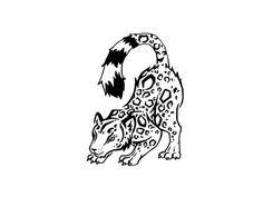 Snow leopard tattoo Wallpaper