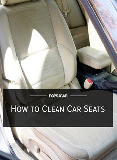 Car seats can be big collectors of gunk, food bits, and spills. Give your car seats a quick cleaning that will leave them free of stains and smelling fresh.