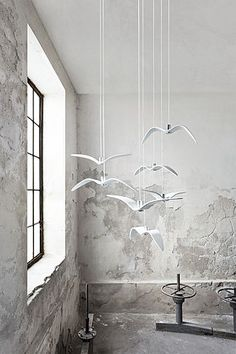 Inspired By The Grace And Freedom Of Bird Flight, The Original Night Birds  Ceiling Lights Bestow ...