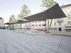 Localarchitecture .  The New Market Square Cover . Renens (1)