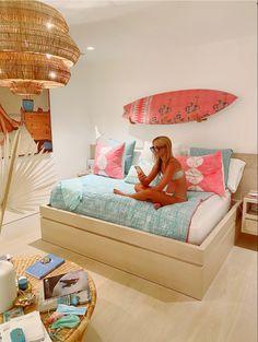 Beach Room Decor, Beachy Room, Cute Room Decor, Room Ideas Bedroom, Bedroom Inspo, Home Bedroom, Bedroom Decor, Bedrooms, Preppy Bedroom