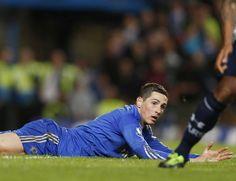 Fernando Torres :3 Chelsea 2-2 Tottenham Hotspur. May 8, 2013.
