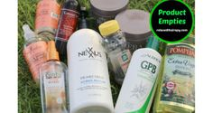 Wash Day Product Empties relaxedthairapy.com