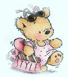 les meli melo de mamietitine - Page 71 Cute Images, Cute Pictures, Boyds Bears, Teddy Bears, Bear Clipart, Little Acorns, Decoupage, Gif Animé, Digi Stamps