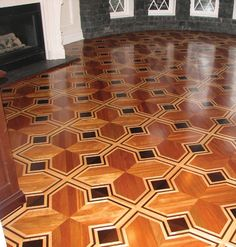 UNIQUE WOOD FLOORING AND DESIGNS