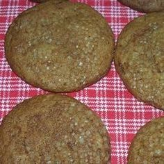 Fresh Ginger Cookies - Allrecipes.com