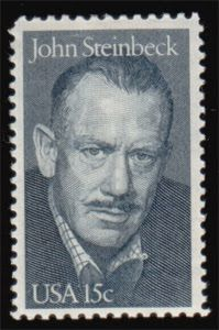 Literary Stamps: Steinbeck, John (1902 – 1968)