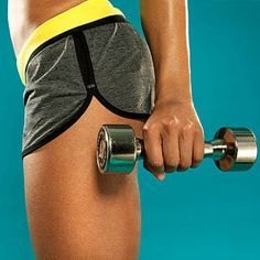 Burn 500 calories in 45 minutes with our secret-weapon #workout from Jeanette Jenkins that sculpts and shrinks everything.