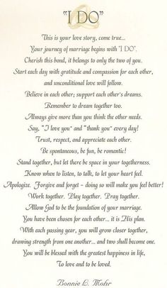 Wedding Quotes I Would Have The Priest Read This Before We Day Our Vows Or