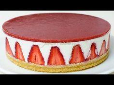Cheesecake fara coacere reteta video - JamilaCuisine Blueberries as top layer for of July! Chocolate Peanut Butter Cheesecake, Nutella Cheesecake, No Bake Cheesecake, Cheesecake Recipes, Baked Strawberries, Chocolate Strawberries, No Cook Desserts, Dessert Recipes, Cheesecake