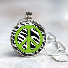 ArtClix Magnetic Interchangeable Pendant with Zebra by Clixby66