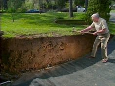 How to build terraced retaining wall