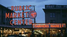 Pike Place Market Seattle Washington wallpapers and stock photos