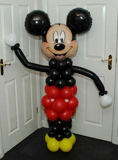 Mickey Mouse Balloon Columns