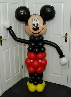 Mickey Mouse Balloon Columns