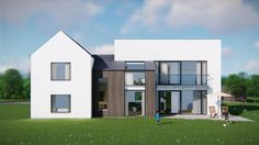 Impressive House Type Design Ideas For 2019 25 Architecture Ireland, Residential Building Plan, Angles, House Designs Ireland, Bungalow Extensions, 2 Storey House Design, Home Exterior Makeover, Farmhouse Renovation, Best Architects