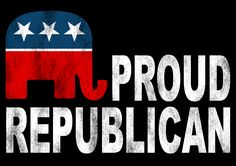 Shop4Ever® Proud Republican Political Shirts