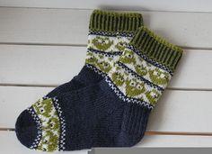Ravelry: Owl Family Socks - Ugle familie sokken by Aud Bergo