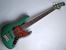 FREEDOM CUSTOM GUITAR RESEARCH / S.O.JB 5st M/P Alder Sherwood Green Electric Bass Free Shipping! δ