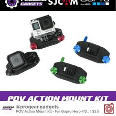 Selling POV Action Mount Kit - For Gopro Hero 4/3/3/2/1 SJCAM SJ4000 SJ5000 SJ M10 Xiaomi Yi and All Cameras for $25. Chat with me on Carousell to get it! Download the free app now by tapping the link on @thecarousell have fun! #carousell #carousellSG #sgflea #sgselling #sginstashop #lookingforsg #sgfleamarket #blogshopsg #sgsales #sgfashion #igsg #progeargadgets #Singapore #Gopro #goproaccessories #sjcam #xiaomiyi