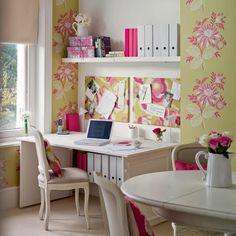 arbeitszimmer gestalten stauraum ideen mit wandregalen | möbel