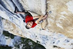 Steve McClure on his flash ascent of Tom et Je Ris (8b+), Verdon Gorge - credit: Tim Glasby