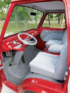 1961 Ford e-100   1961 Ford E 100 Stock Buckets And Interior
