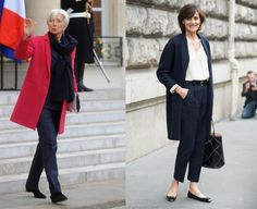 Loving French Style! How older French women nail looking great. Read more here: http://www.lookfabulousforever.com/blog/loving-french-style/