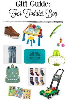 gift guide for toddler boy