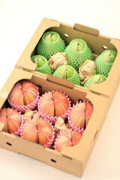 fruits memo pad #packaging by KUDAMEMO is very clever. Real fruit is packaged like this too PD