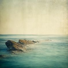 Ocean Photo, Landscape Photography, Nature, Minimal Seascape, Zen, Serene - Be here now
