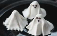 Fondant Ghost & how-to