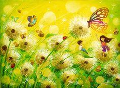 The Dandelion Dream by frecklefaced29.deviantart.com on @DeviantArt